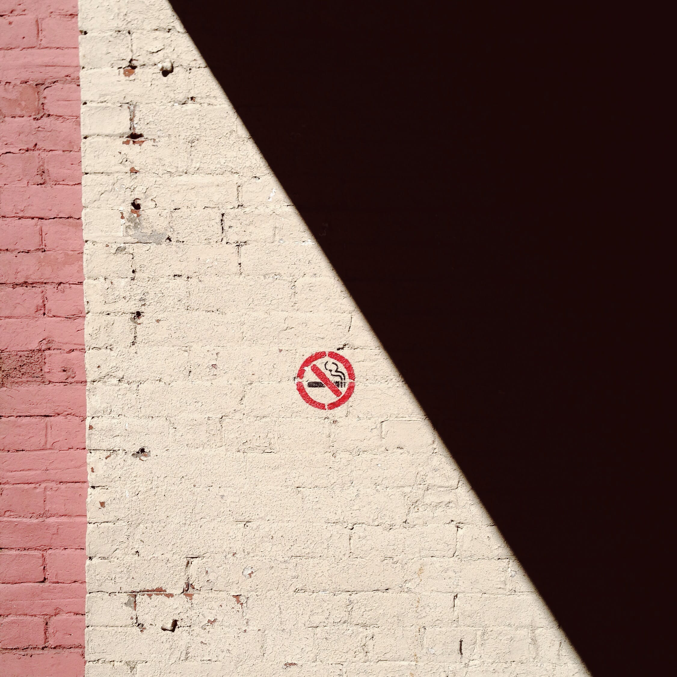 A photograph depicting No Smoking on Prince William Street