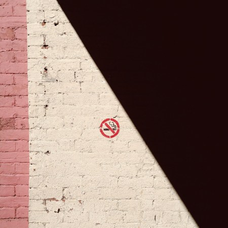 A photo of No Smoking on Prince William Street Photograph