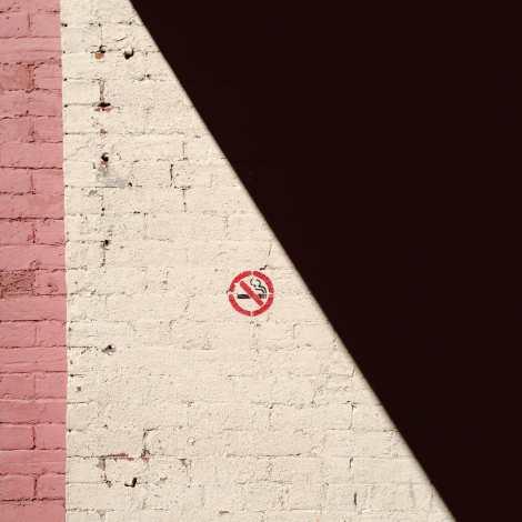 No Smoking on Prince William Street Photograph