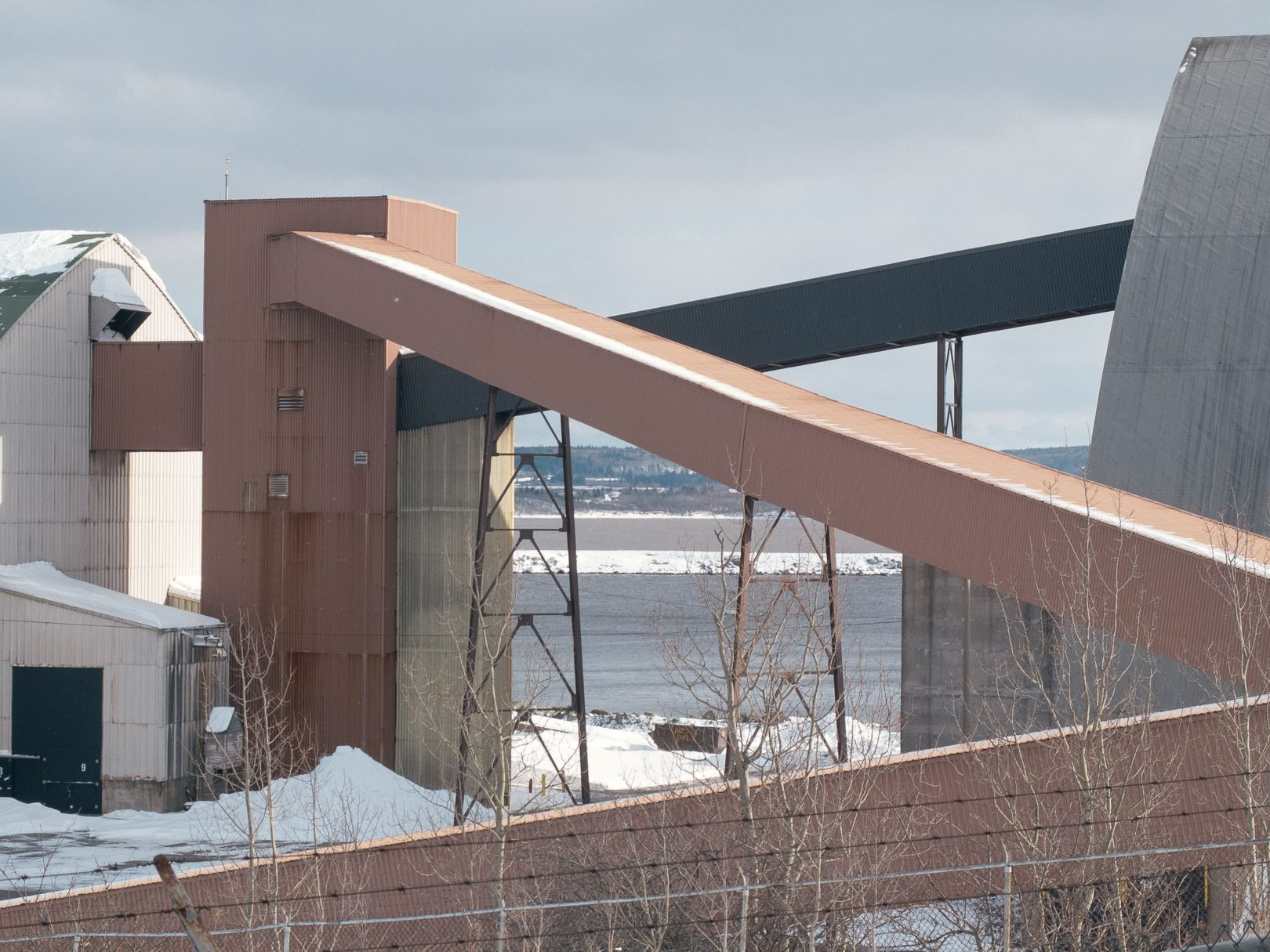 A photo of Potash Terminal Saint John Photograph