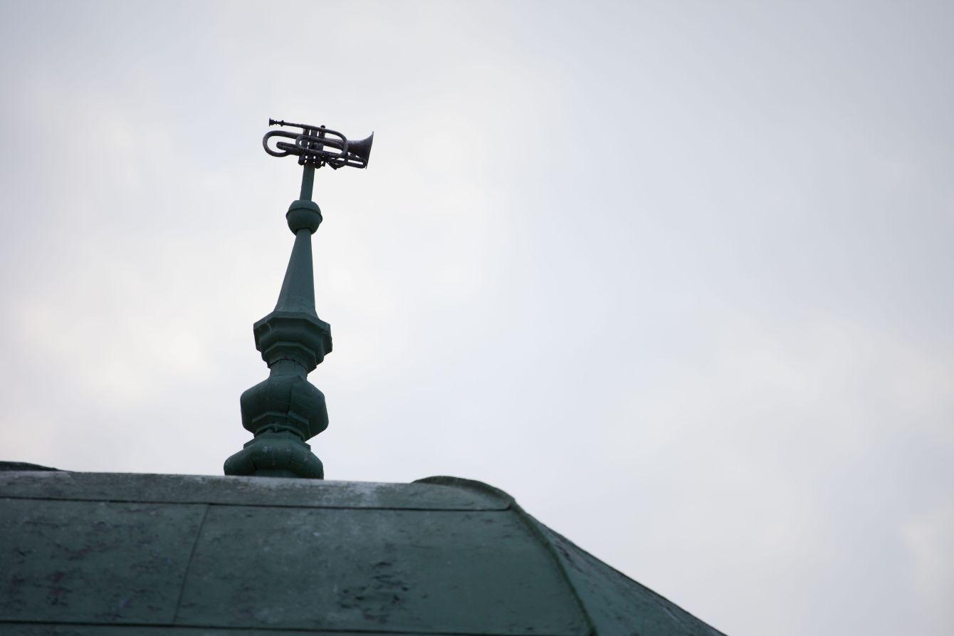 Click thumbnail to see details about photo - Saint John Bandstand Trumpet Saint John Photograph