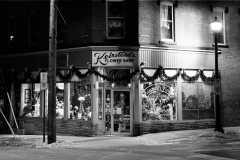 Saint John Keirsteads Flower Shop on Princess Bw Photograph