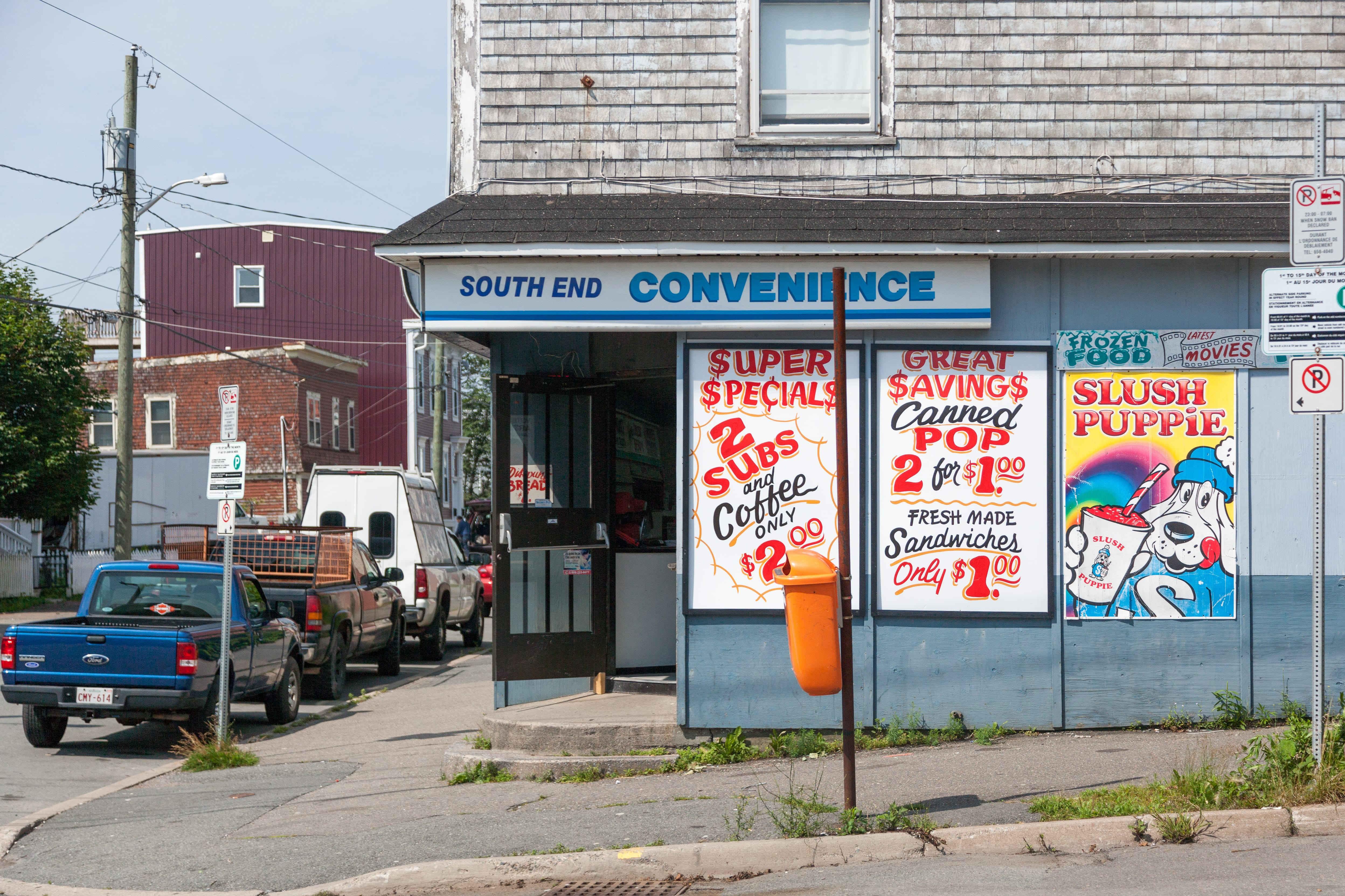 A photograph depicting South End Convenience Saint John