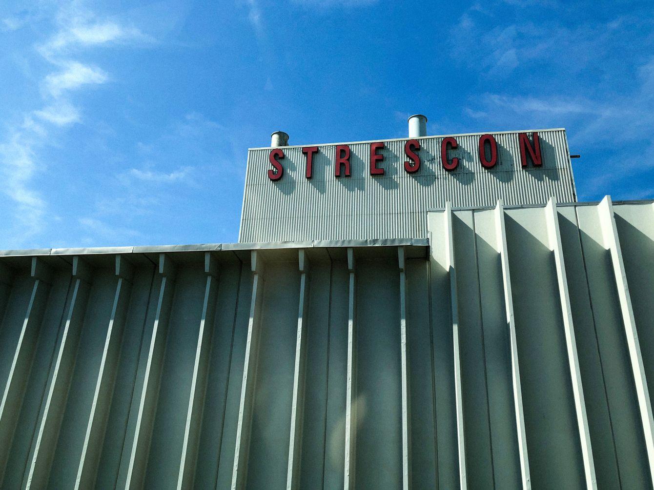 Click thumbnail to see details about photo - Strescon Building Saint John Photograph
