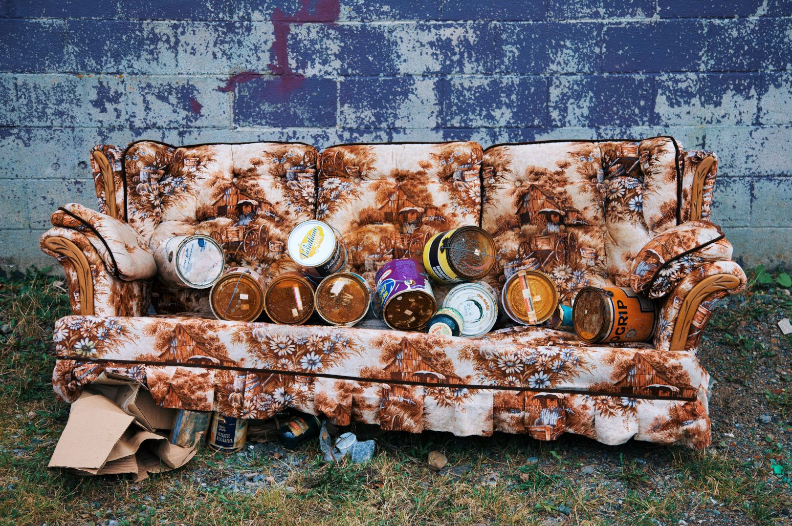 A photo of Abandoned Couch Saint John Photograph