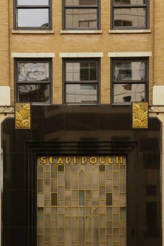 A photo of Austin Texas Scarbrough Facade