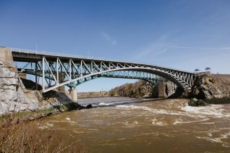 A photo of Reversing Falls Bridge Wide