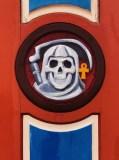 John Hooper Clock Skull
