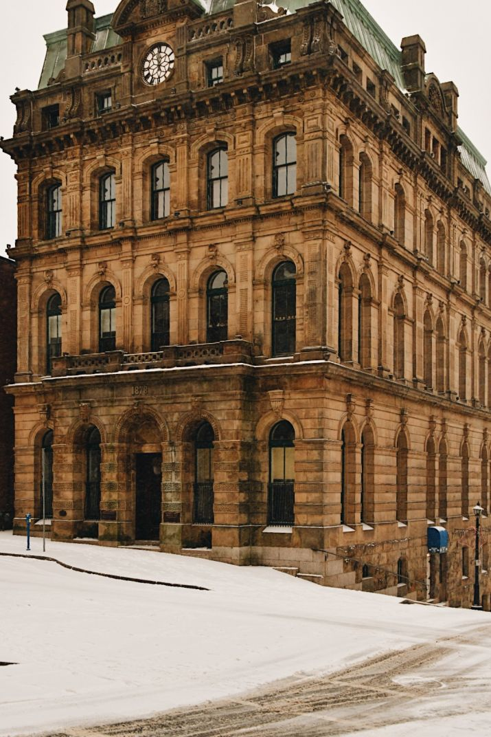 Click thumbnail to see details about photo - The Old Post Office Building Saint John Exterior