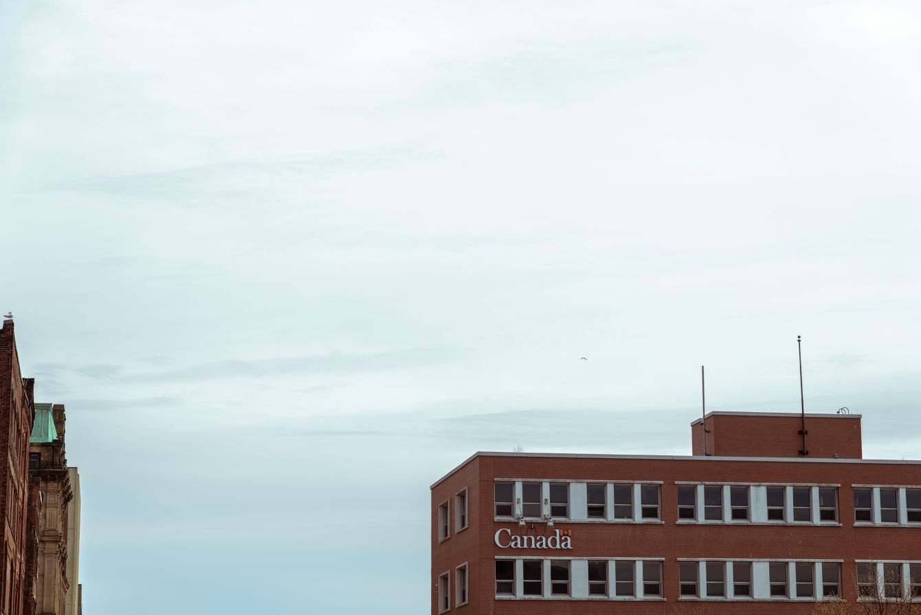 Click thumbnail to see details about photo - Coast Guard Building in Saint John Water Street