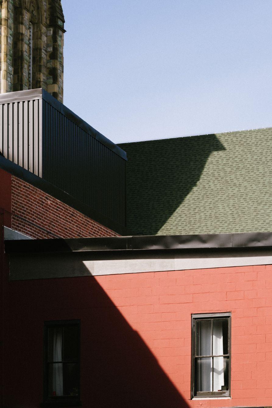 Click thumbnail to see details about photo - Hard Shadows on Princess Street Saint John