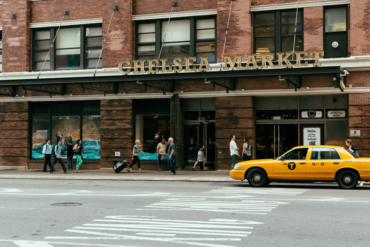 A photo of New York City Chelsea Market Exterior