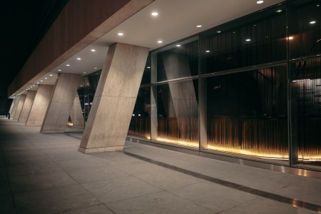 A photo of New York City Stk Facade