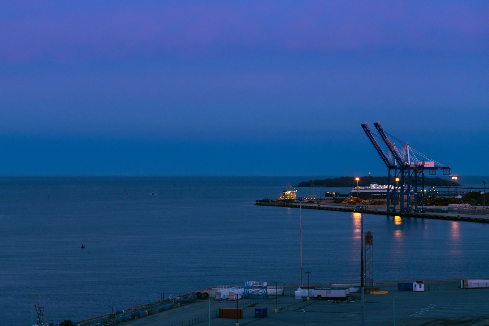 A photo of Port Saint John At Dusk