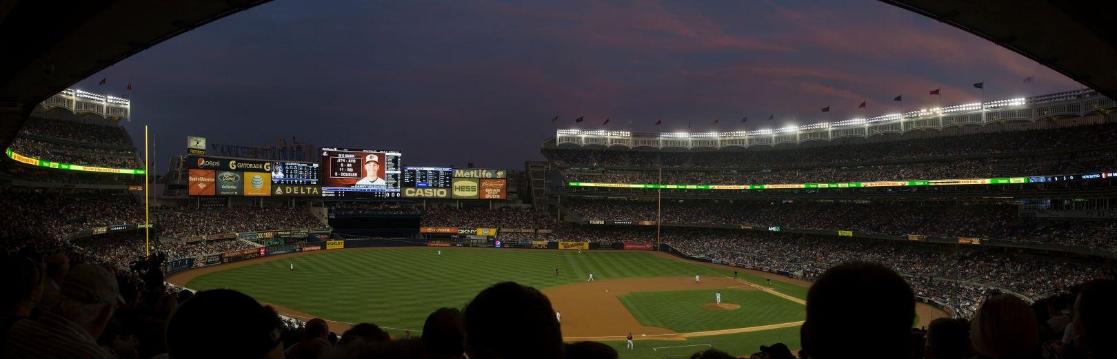 A photo of Yankee Stadium Panorama