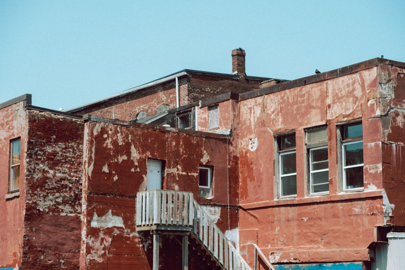 Click thumbnail to see details about photo - Back of Building on Union Street