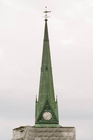 A photo of Saint John Church Steeple Renovation