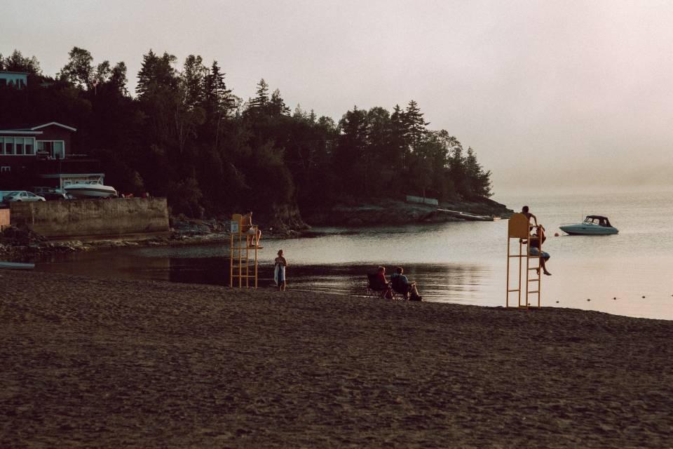 A photo of Dominion Beach at Dusk Saint John