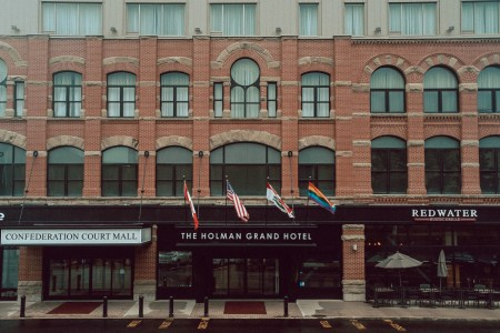 A photo of The Holman Grand Hotel Front PEI