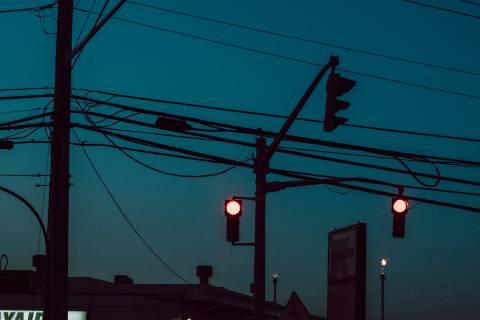 A photo of Traffic Lights Industrial Park Saint John