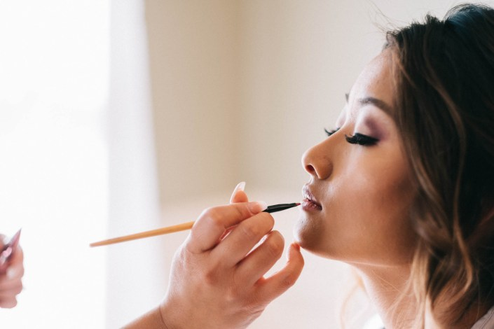 makeup for asian bride