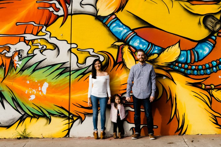 atlanta beltline family photos