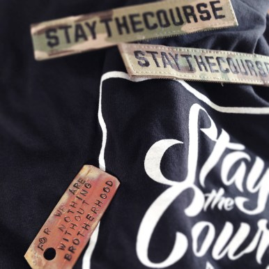Stay The Course Swag