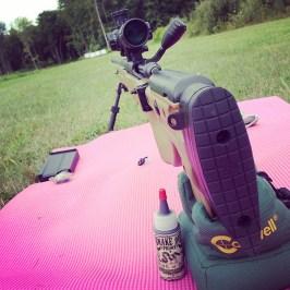 My Sick Yoga Shooting Mat