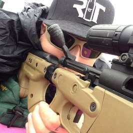 Me on my AT7 Rifle
