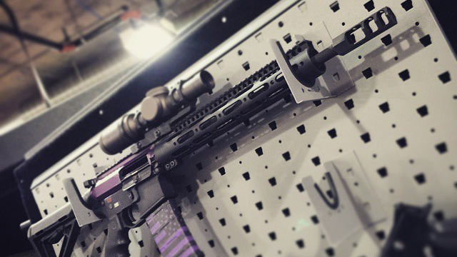 SHOT Purple AR15