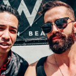 Michael Checkers and Laidback Luke at the W South Beach
