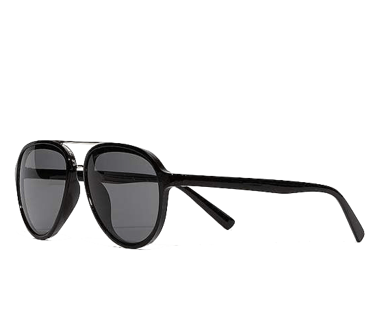 Express Gold Brow Bar Aviator Sunglasses