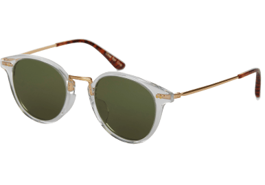 Toms Bellini 201 Crystal Green Lens sunglasses