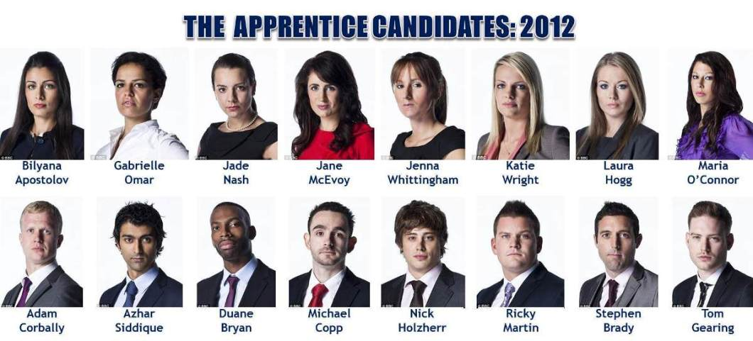 The Apprentice 2012: The Candidates