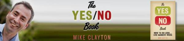 The Yes/No Book by Mike Clayton