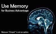 Use Memory for Business Advantage