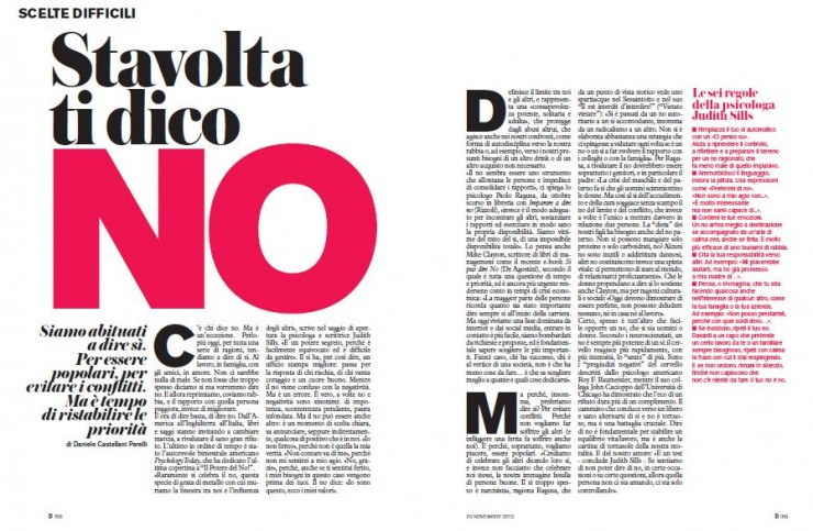 Stavolta ti dico NO - This time you say NO