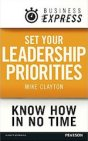 Set Your Leadership Priorities