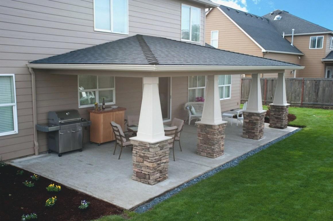 rear covered patio designs • patio ideas