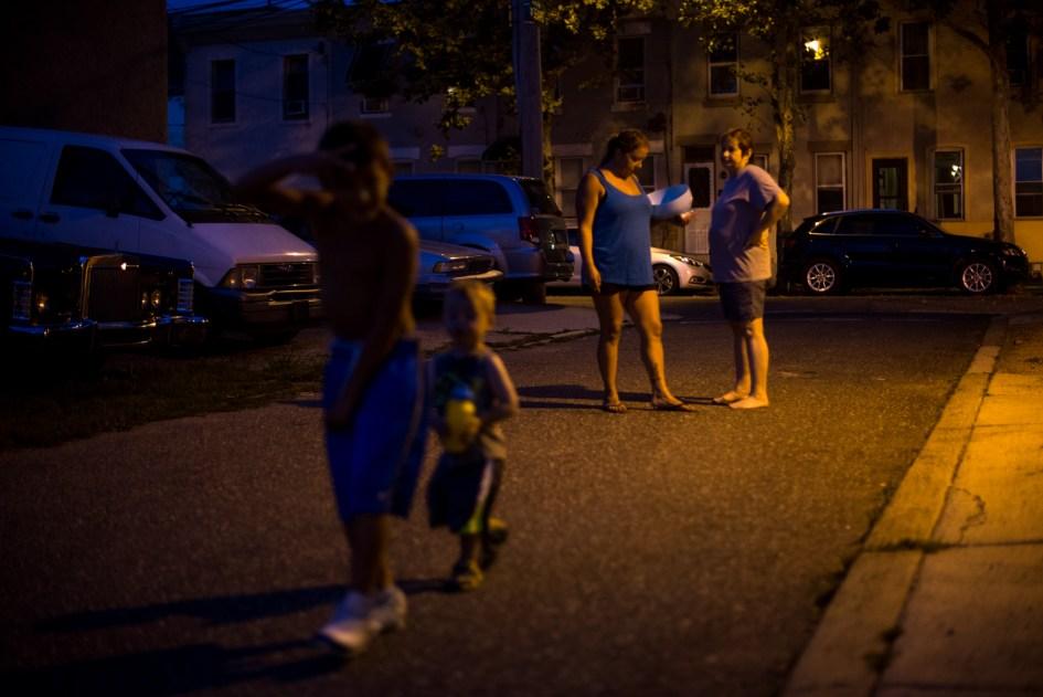Philadelphia, PA - July 28, 2015 - Forgotten Bottom