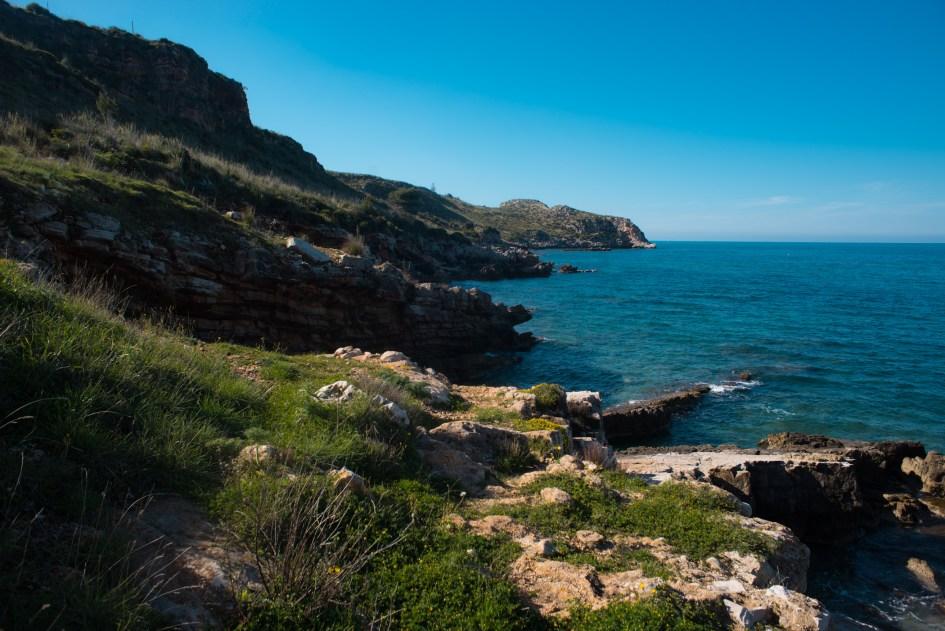 Landscapes in campagna , Castellammare del Golfo, Sicilia.