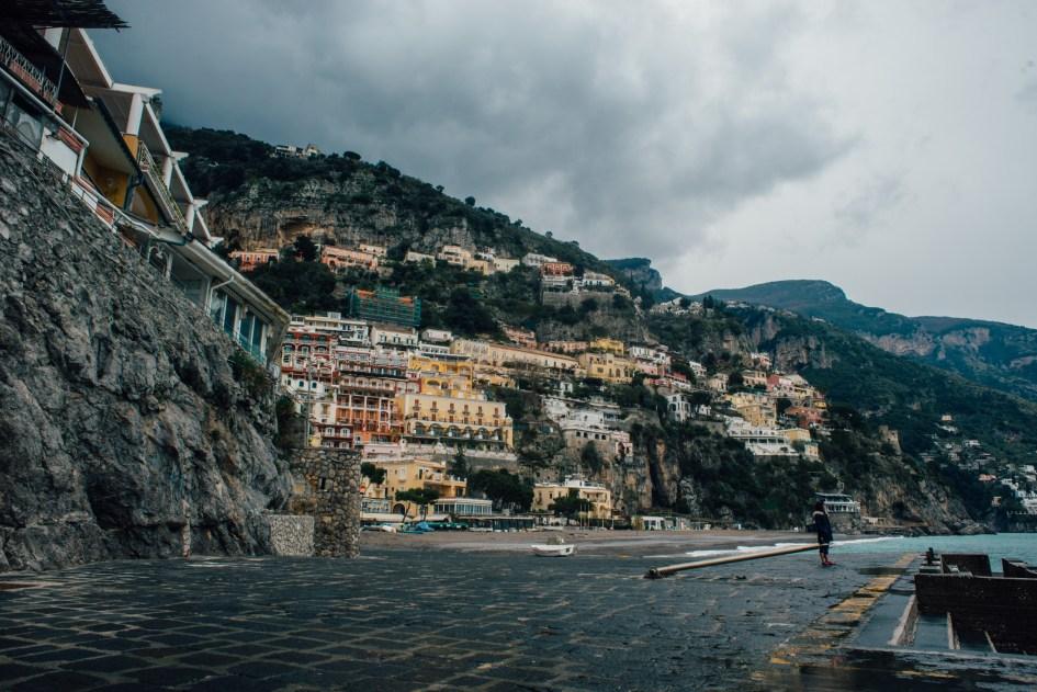 View of Positano, Amalfi Coast.