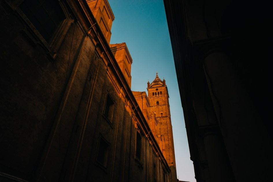 """Bologna, the """"red city."""""""