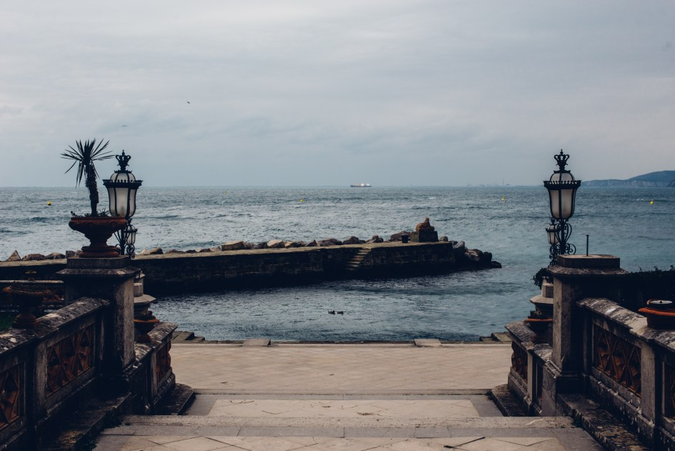 Trieste, View from Castello Miramare.