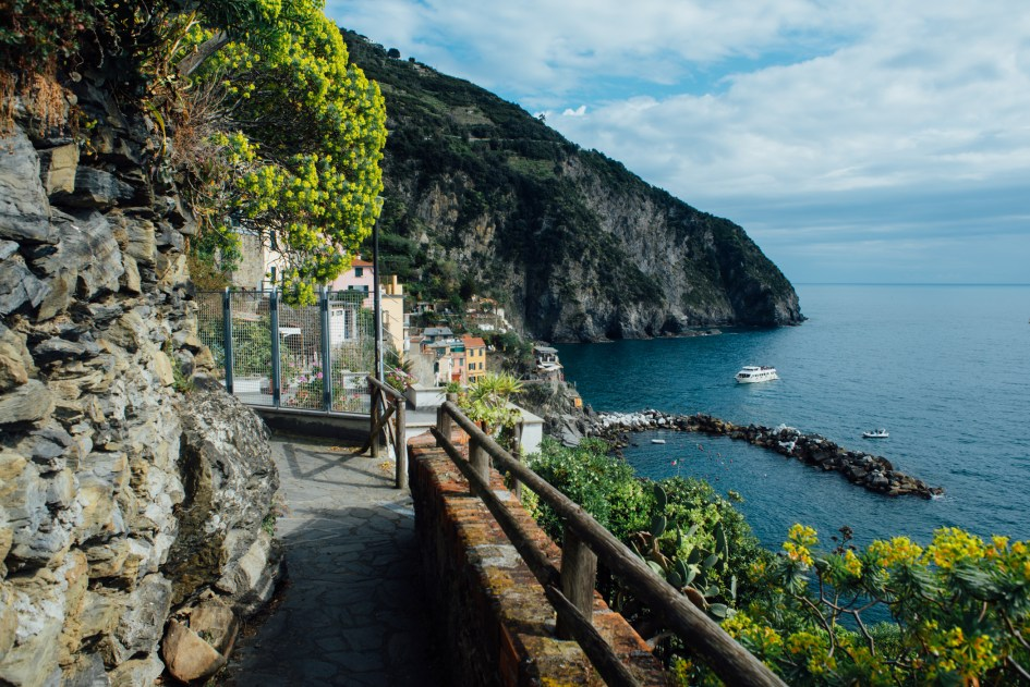 Liguria, Italia – Cinque Terre, including Riomaggiore, Manarola, Corniglia, Vernazz and Monterosso, with Malik and Morgan.