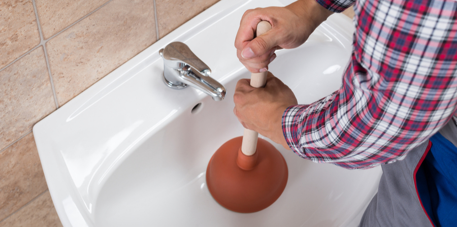 how to unclog a bathroom sink mike