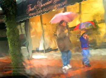 Rainy day feature