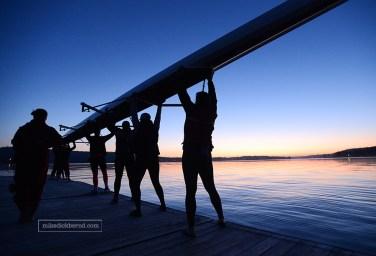 IU Rowing, sunrise