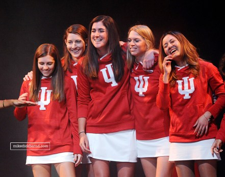 IU Women's Tennis Team