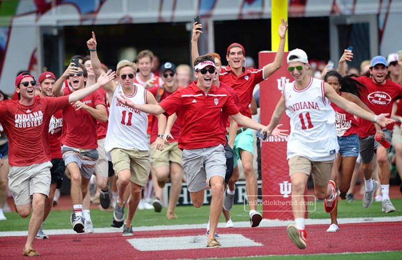Freshmen run-out